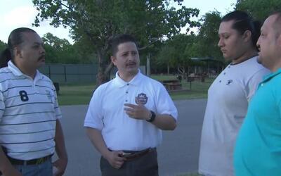 Líderes comunitarios de Houston se reunieron una vez más para alzar su v...