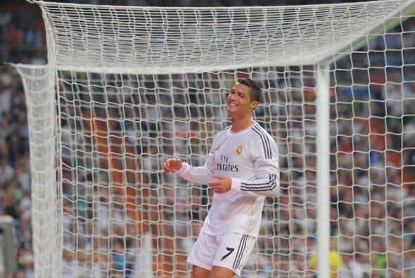 Cristiano estaba buscando un gol muy especial.
