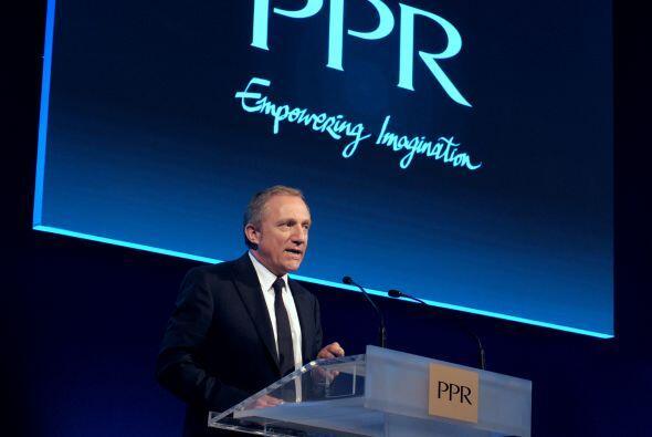 3. François-Henri Pinault- El empresario francés y actual...