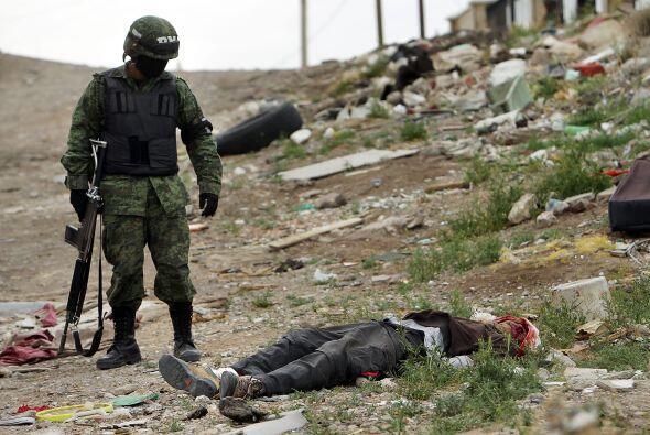 El gobierno de Felipe Calderón le declaró la guerra al narcotráfico en 2...
