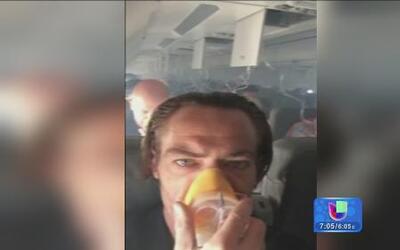 Pasajeros vivieron momentos de terror en un avión