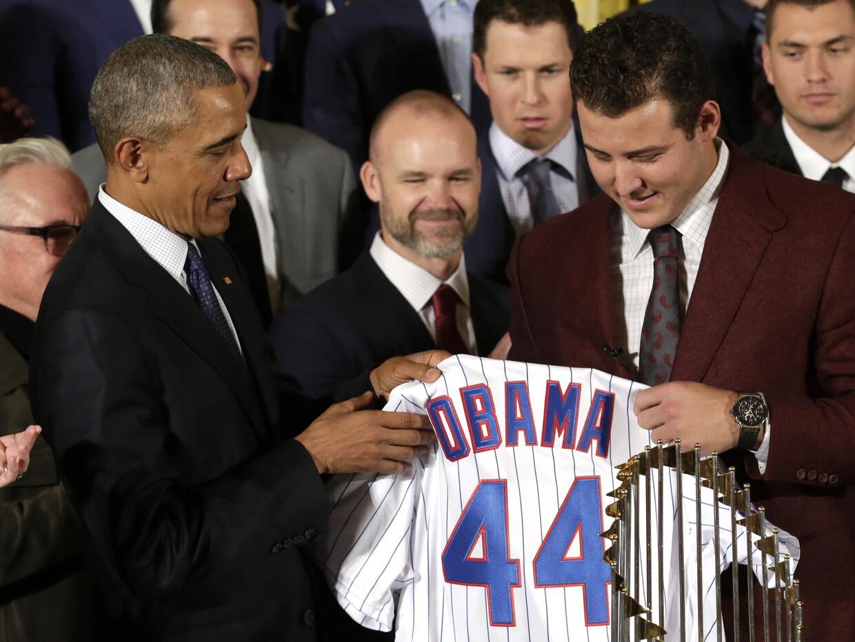 Obama cubs Chicago