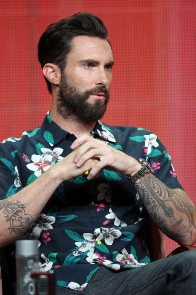 Además de su música, la barba de Adam Levine es uno de sus principales a...