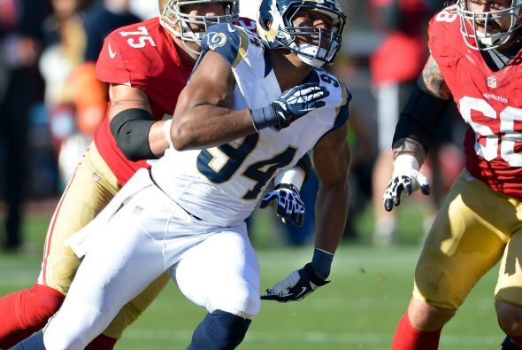 Ala defensivo: Robert Quinn, St. Louis Rams.