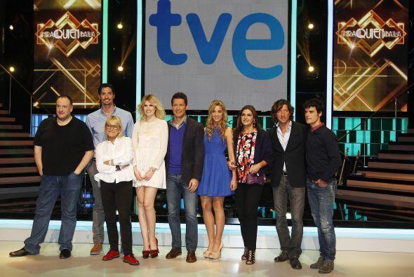 En total son ocho famosos que compiten por un premio final de 10,000 eur...