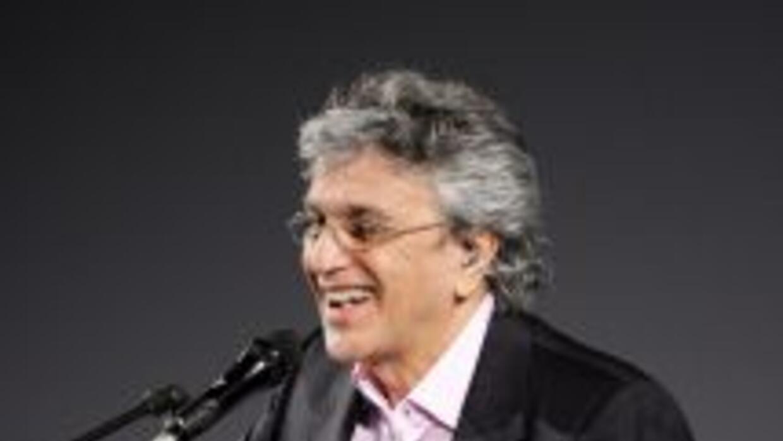 Caetano Veloso fue escogido por ser embajador preeminente de la música y...