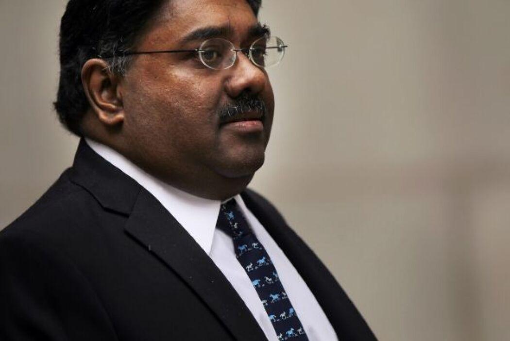 Raj Rajaratnam  Delito: El fundador del fondo de inversiones de alto rie...