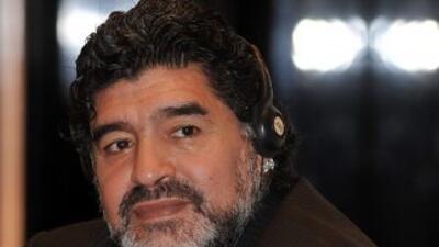 El ex futbolista argentino pretende participar en un programa de televis...
