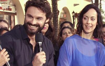 Gabriela de la Garza e Iván Sánchez despertaron en Los Angeles