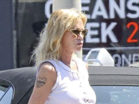 La actriz ya ha comenzado sus tratamientos con láser para quitars...