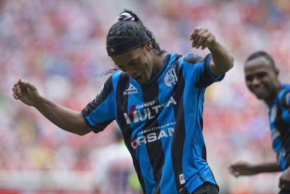 Pero que beneficios o que puntos en contra tendrá Ronaldinho con Queréta...