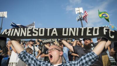 Minnesota United FC fans