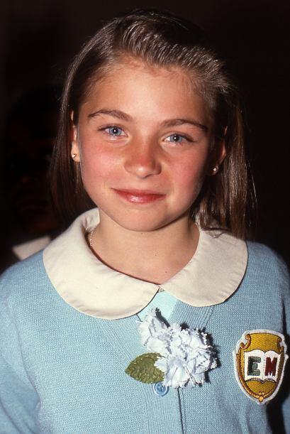 """Ludwika Paleta tenía 13 años cuando debutó en """"El Abuelo y Yo"""", 1992."""