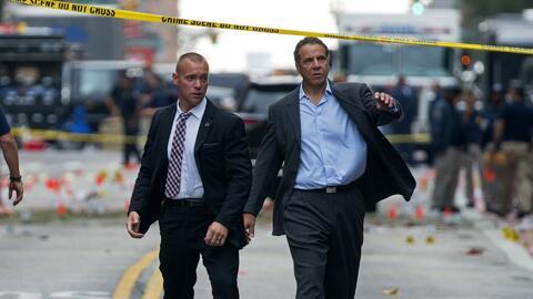 """Cuomo: Es un """"acto terrorista"""", pero """"no hay vínculos con el terrorismo..."""