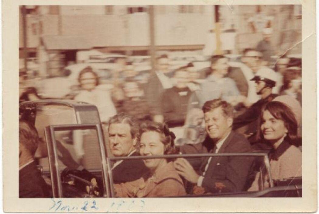 Este viernes se cumplen 50 años del asesinato de John F. Kennedy, el pre...