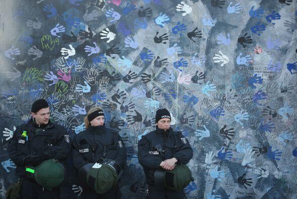 El Muro de Berlín cayó el 9 de noviembre de 1989, aunque ciertos tramos...