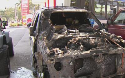 Incendios de cuatro vehículos en lugares diferentes tienen en alerta a l...
