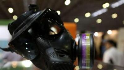 La máscara será utilizada por la Policía antidisturbios en eventuales pr...