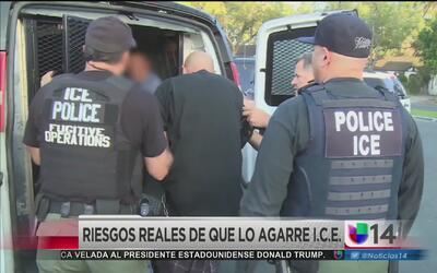 Riesgos reales de ser detenidos por ICE en las calles