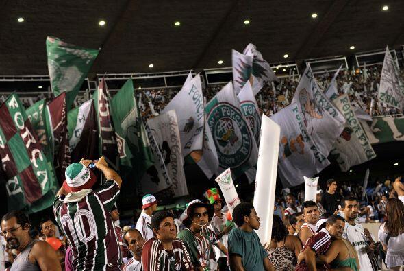 Fluminense lideró el torneo durante 23 de las 38 jornadas en las cuales...