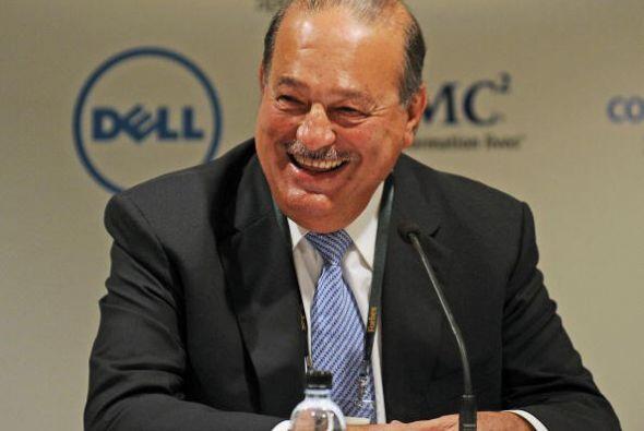 1. Carlos Slim. Este empresario, dueño de Grupo Carso y presidente honor...