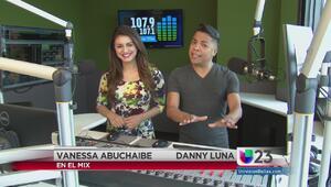 """""""En El Mix"""" con Danny Luna y Vanessa Abuchaibe - Lunes 5/2/16"""