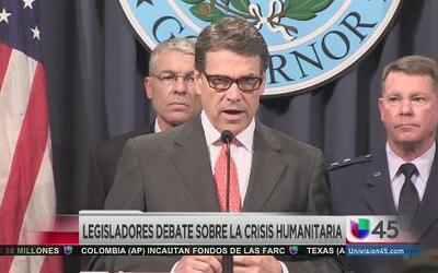 Texas pide reembolso por proteger la frontera