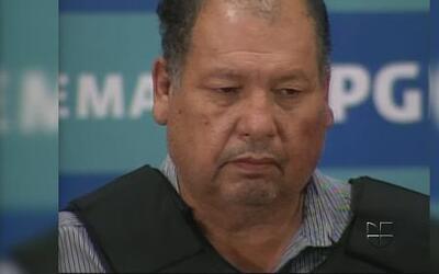 Autoridades mexicanas presentan a Mario Cárdenas Guillén