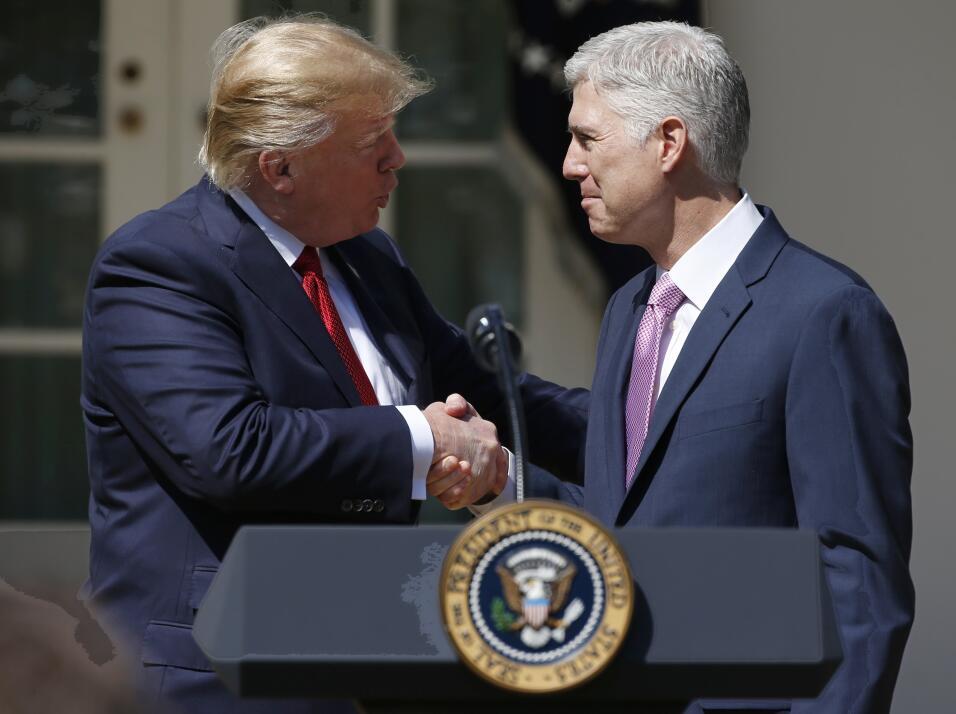 Trump y Gorsuch