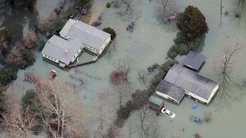 Al menos tres muertos por mal tiempo en Mississippi y Alabama