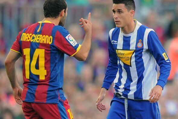 No faltaron las diferencias entre jugadores de ambos planteles.