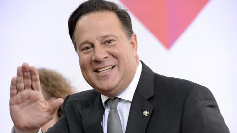 El presidente de Panamá, Juan Carlos Varela, prometió pres...