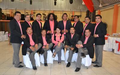 El grupo Sensación Caribú.