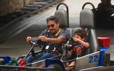 El Feo y su nieto.