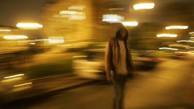 Adolescente en la calle