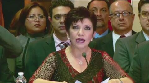 Arrestan a María Georgina Domínguez, quien era vocera del hoy capturado...