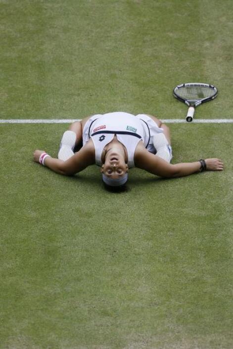 En junio, Bartoli decidió no aparecer en el torneo de Birmingham, prepar...
