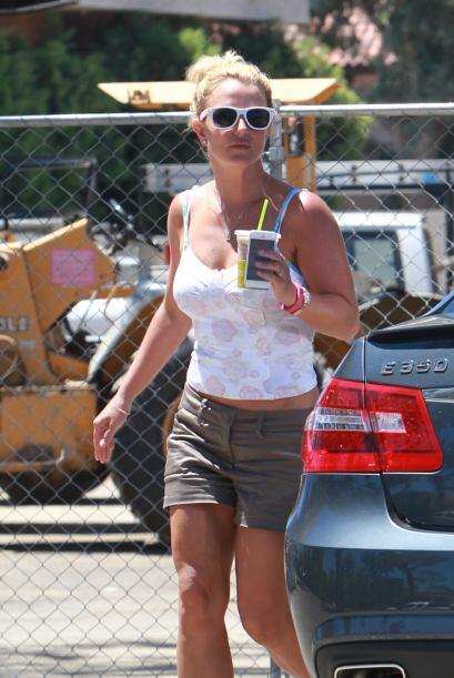 Por más que la 'princesa del pop' se esfuerza en el gimnasio, sus pierna...