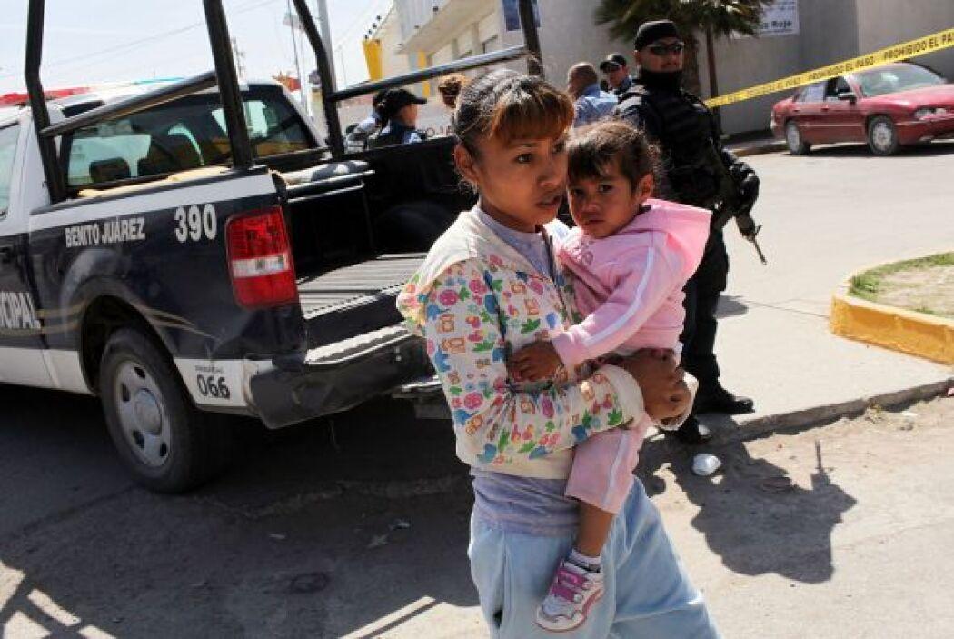 El informe también critica a las autoridades mexicanas por concentrarse...