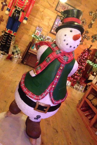 ¿Será Frosty? Le preguntamos, pero no respondió.