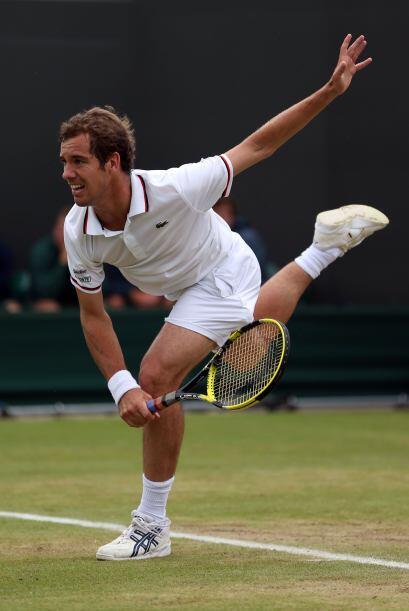 Richard Gasquet, eterna promesa del tenis francés, cayó frente al alemán...