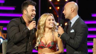 Rogelio Martínez volvió a la pista con la bailarina de su vida