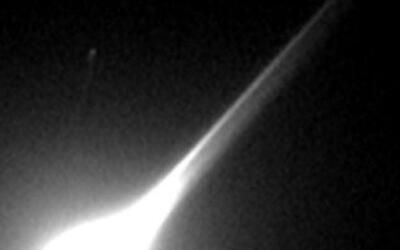 En video quedó registrada la explosión de un meteoro que se pudo aprecia...