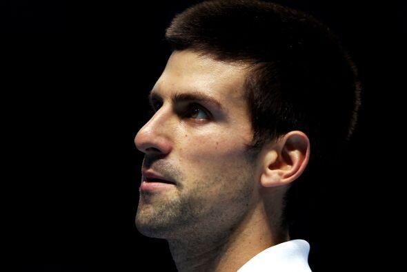 En contra de todos los pronósticos, el serbio Novak Djokovic, número uno...