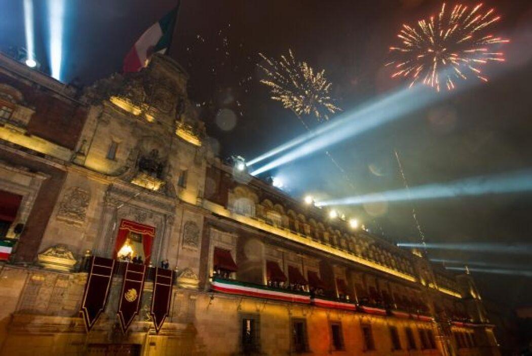 Este 15 de septiembre se esperan los fuegos artificiales que alegran cad...