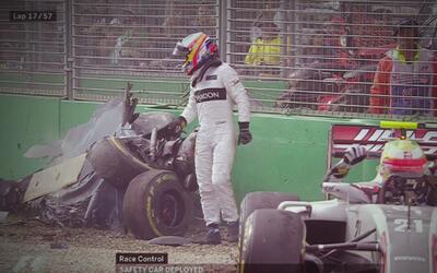 Top cinco con los choques más espectaculares en la Fórmula 1