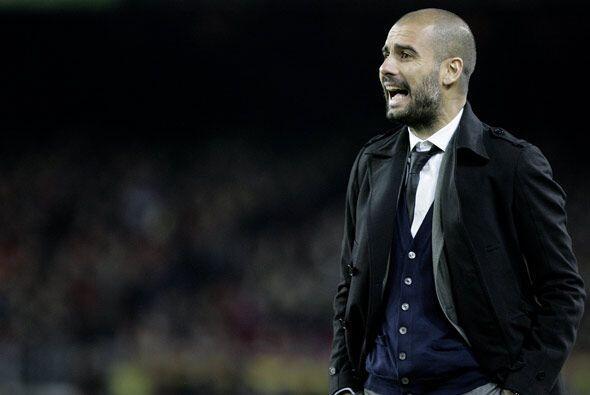 Guardiola cumplió su partido 100 con el Barcelona. El 'Pep' suma 71 vict...