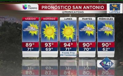 Se avecina un frente frío a San Antonio