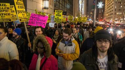 Continúan en Nueva York las manifestaciones por abuso policial