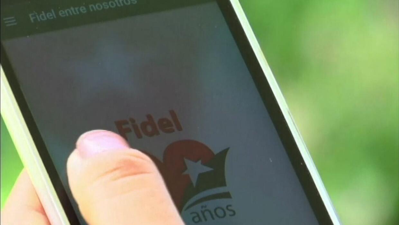 Cubanos crean una aplicación que cuenta la vida de Fidel Castro